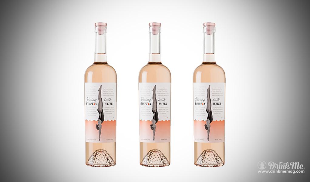 The Rock Drinking Wine