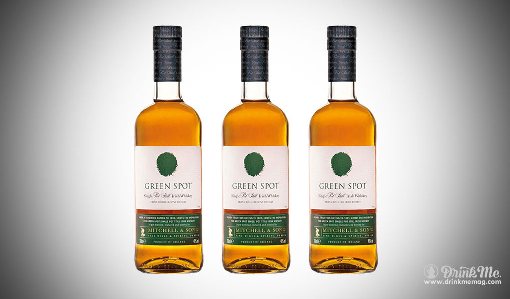 Green Spot Whiskey drinkmemag.com drink me Top Rye Whiskey