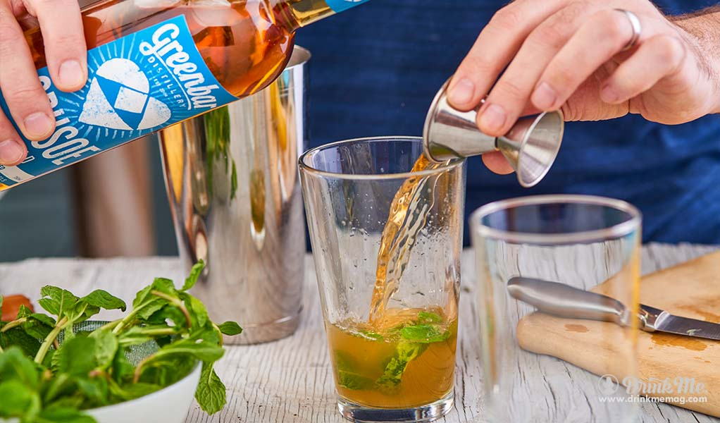 Greenbar Distillery Cocktail Making Fresh and Muddled drinkmemag.com drink me Greenbar Distillery Spring Campaign