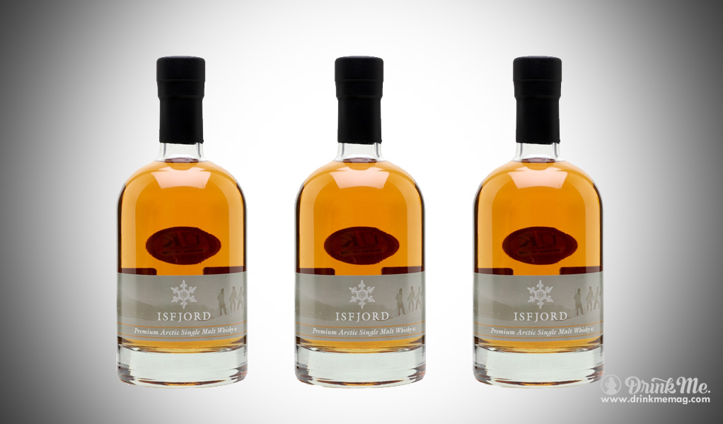 Isfjord Arctic Malt Whiskey drinkmemag.com drink me Isfjord Arctic Malt Whisky