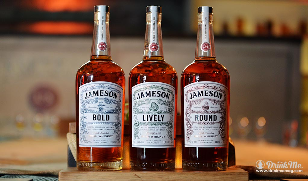Jameson Bold, Lively and Round drinkmemag.com drink me Midleton Distillery