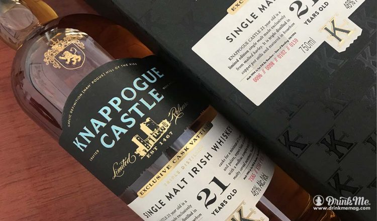 Knappogue Castle 21 Year Old drinkmemag.com drink me Knappogue Castle Campaign