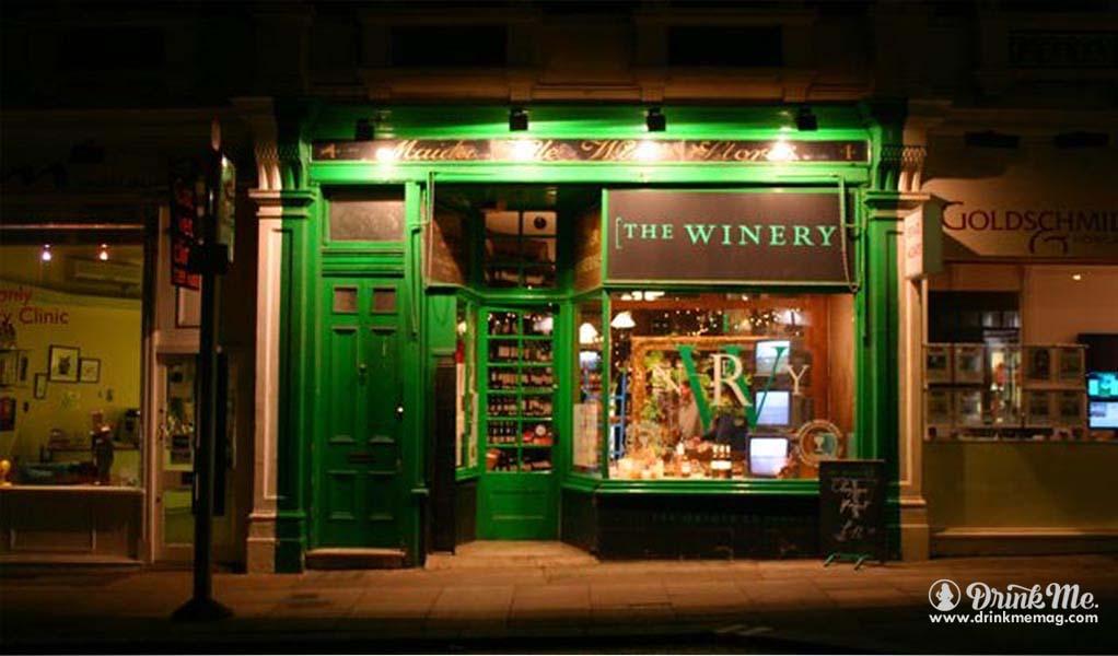 The Winery drinkmemag.com drink me London Wine Retailers