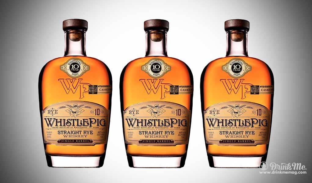 whistle pig drinkmemag.com drink me Top Rye Whiskey