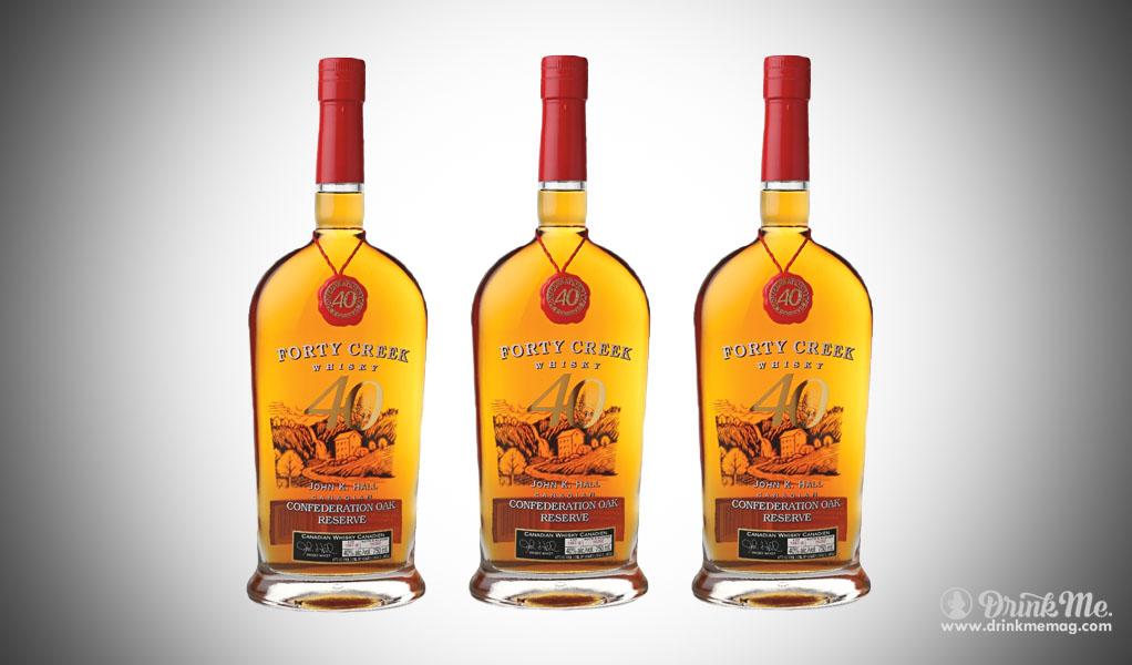 Forty Creek Confederation Oak Reserve drinkmemag.com drink me Top Craft Whiskey