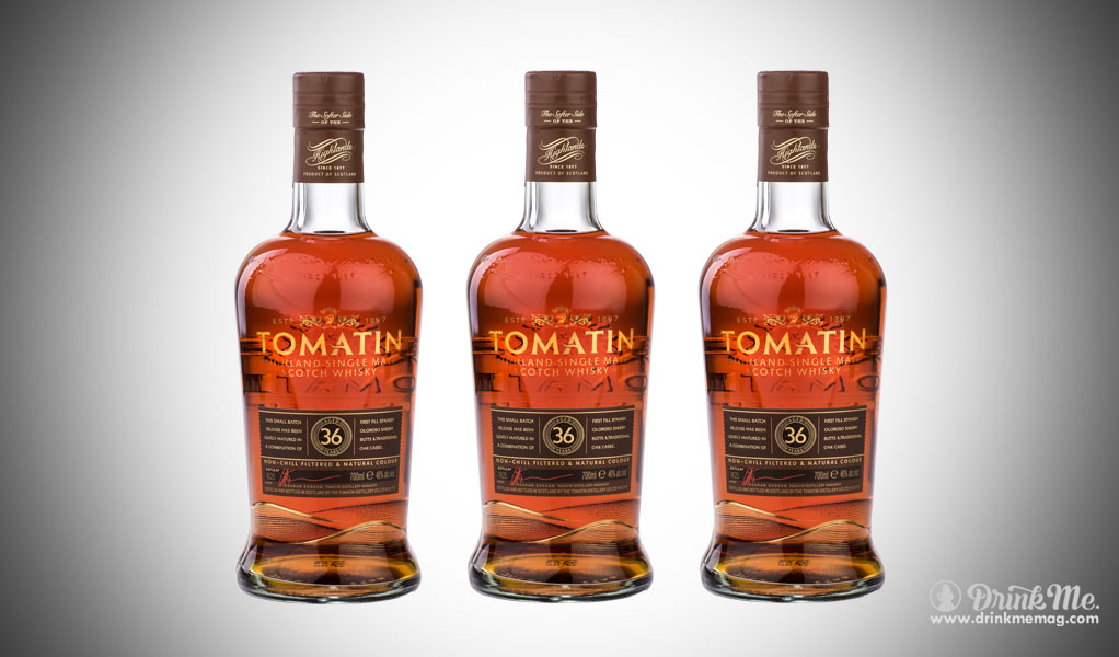 Tomatin 36 Year Old Single Malt Scotch drinkmemag.com drink me Top Craft Whiskey
