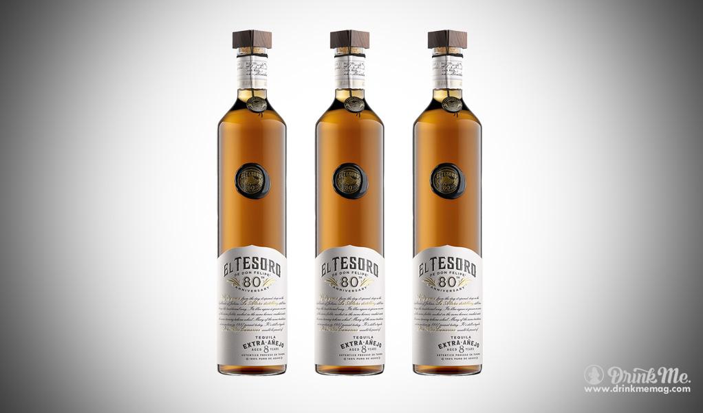 El Tesoro 80th Anniversary Tequila drinkmemag.com drink me El Tesoro 80th Anniversary Tequila