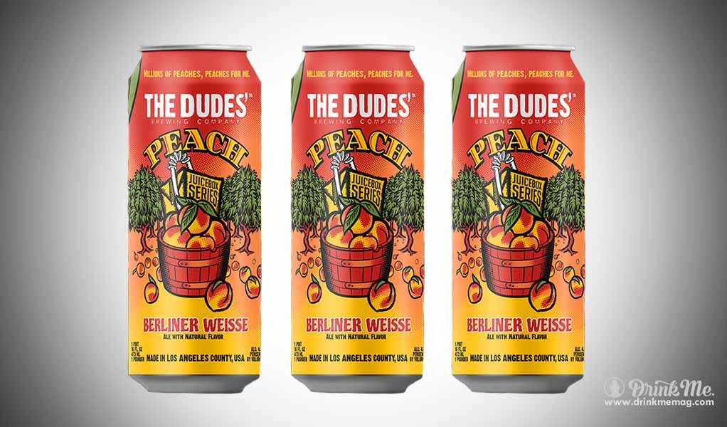 The Dudes' Peach Berliner Weisse drinkmemag.com drinkme Top Peach Beers